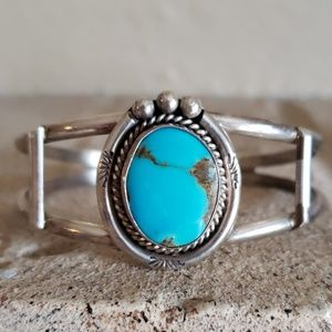 Turquoise Sterling Silver Native American EACH $88